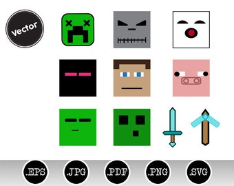 10 Mine Themed Clip Art