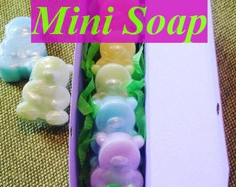 Mini soap Soap set Baby soap Kids party Funny soap Handmade soap Novelty soap Birthday gift From my shower Kids soap Party favors For kids