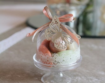 Lozenge vacuum for baptism, romantic and wedding Bell