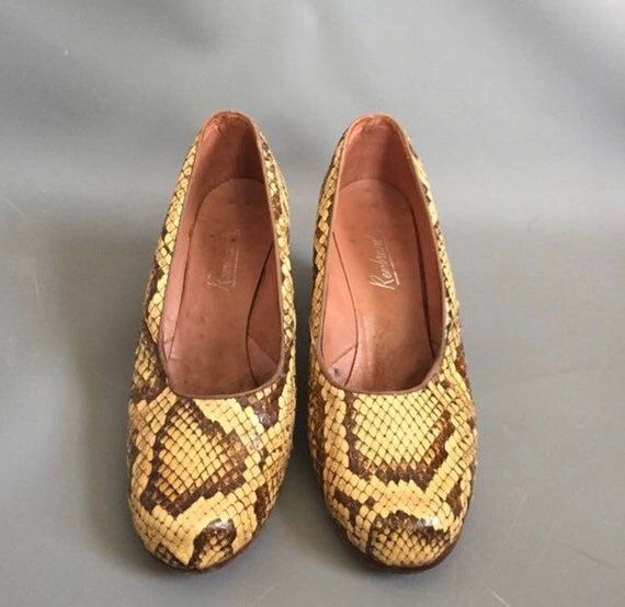 1940s snakeskin shoes - image 6
