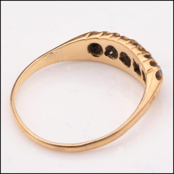 Antique Victorian Engagement Ring - image 4