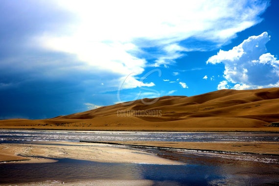 Storm Rolling In at Sand Dunes National Park