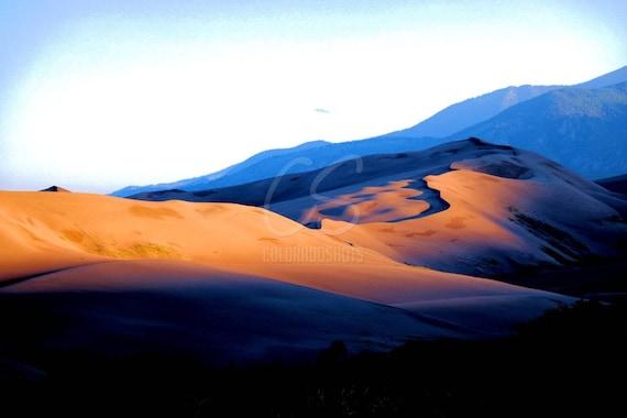 Sunrise at Sand Dunes National Park