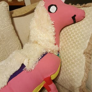 Lady Rainicorn Body Pillow by