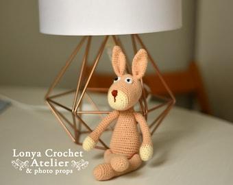 Amigurumi crocheted rabbit