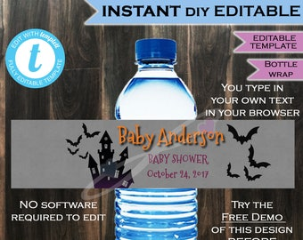 Christmas Gender Reveal Present Water Bottle Label Beer Label Etsy
