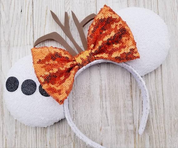 Disney Olaf Frozen Christmas Mickey Minnie Ears