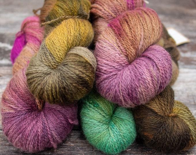 Curious 4ply Yarn - BFL & Masham