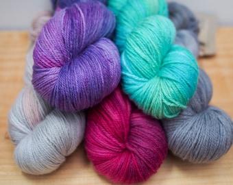 Silky 4ply Yarn - Merino & Silk