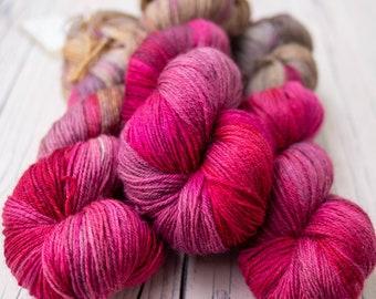 Swanky 4ply - Polwarth & Silk Yarn