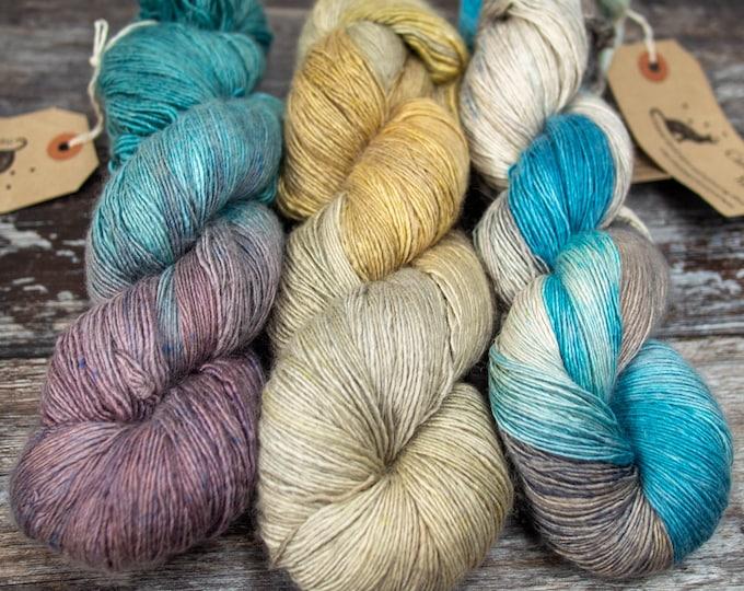 Silky Singles 4ply Yarn - 50% Mulberry Silk