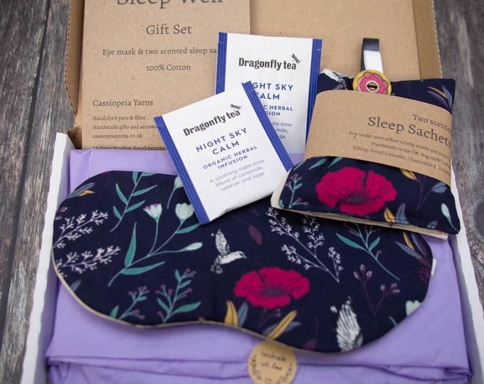 Handmade sleep gift set - letterbox friendly - choice of fabrics