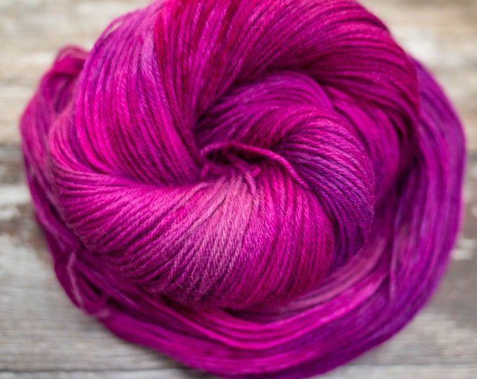 Classic Sock Yarn - Fuchsia