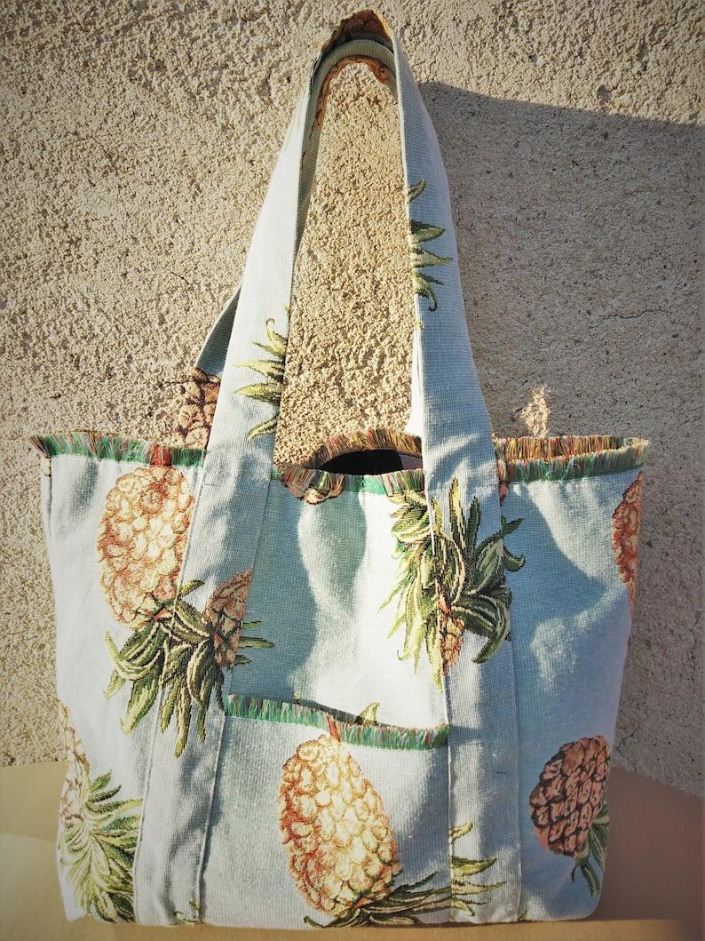 Reusable Bag Shopping Bag Happy Design Tote Cotton Tote Bag