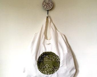 Joyce Shopping Bag, Grocery Bag, Shopping Bag, Tote Bag, Reusable Shopping Bag, Packable Bag, Market Tote, Cotton Tote, Reusable Bag