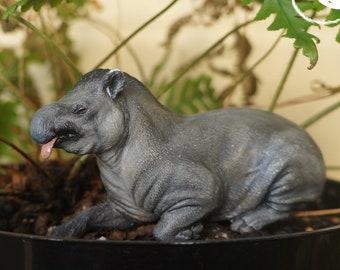 Coloriage Bebe Tapir.Tapir Animal Etsy