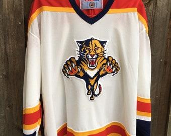 5157c75b9 Vintage CCM Florida Panthers Hockey Jersey XXL