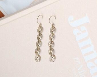 1990's Chain Link Earrings