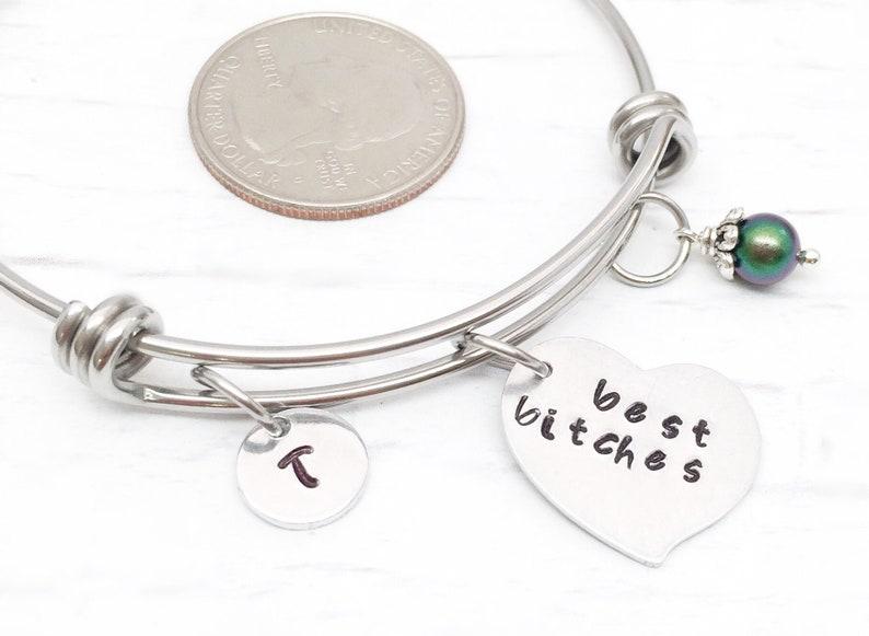 c7fe7868a869cd Best bitches bracelets bff bracelets nasty woman bracelets | Etsy