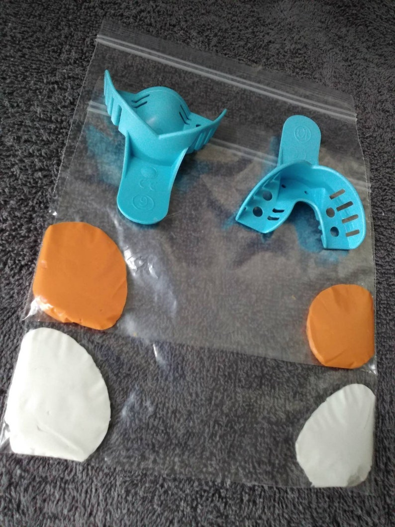 Dental Mold Kit for Teeth Custom Grillz Replacement Mold Kit