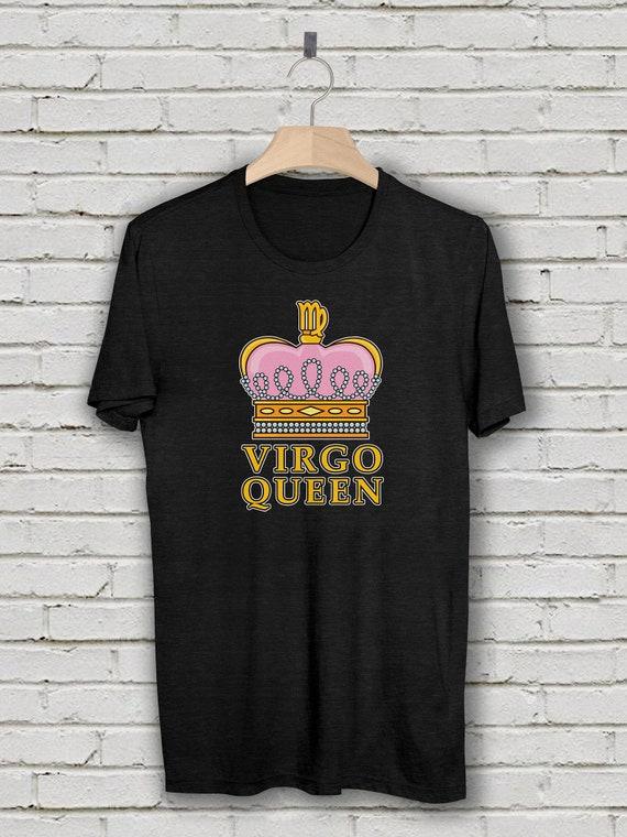 Virgo Queen T Shirt August Birthday September