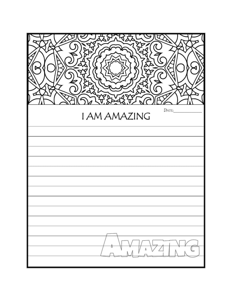 image regarding Printable Journal Pages named Magazine Website page - Printable Magazine Web pages - I AM Incredible Coloring Magazine Webpage - Coloring Magazine Webpages - Graude Magazine - Prayer Magazine