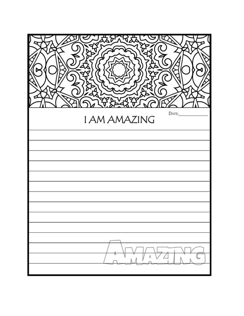 photo relating to Journal Pages Printable identify Magazine Site - Printable Magazine Web pages - I AM Unbelievable Coloring Magazine Site - Coloring Magazine Internet pages - Graude Magazine - Prayer Magazine
