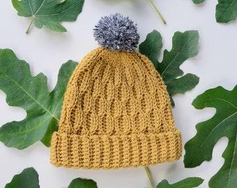 Crochet Hat Pattern | The Wave Beanie