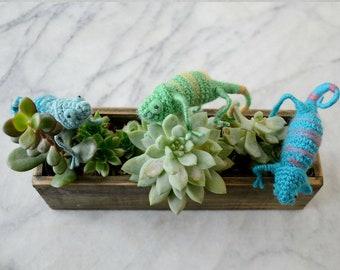 Chameleon Crochet Pattern