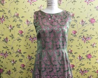 Jackie-O 1960's Brocade Dress with Jacket