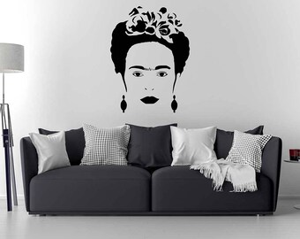Frida Kahlo Wall Decal/ Frida Kahlo Art / Home Decor / Wall Sticker