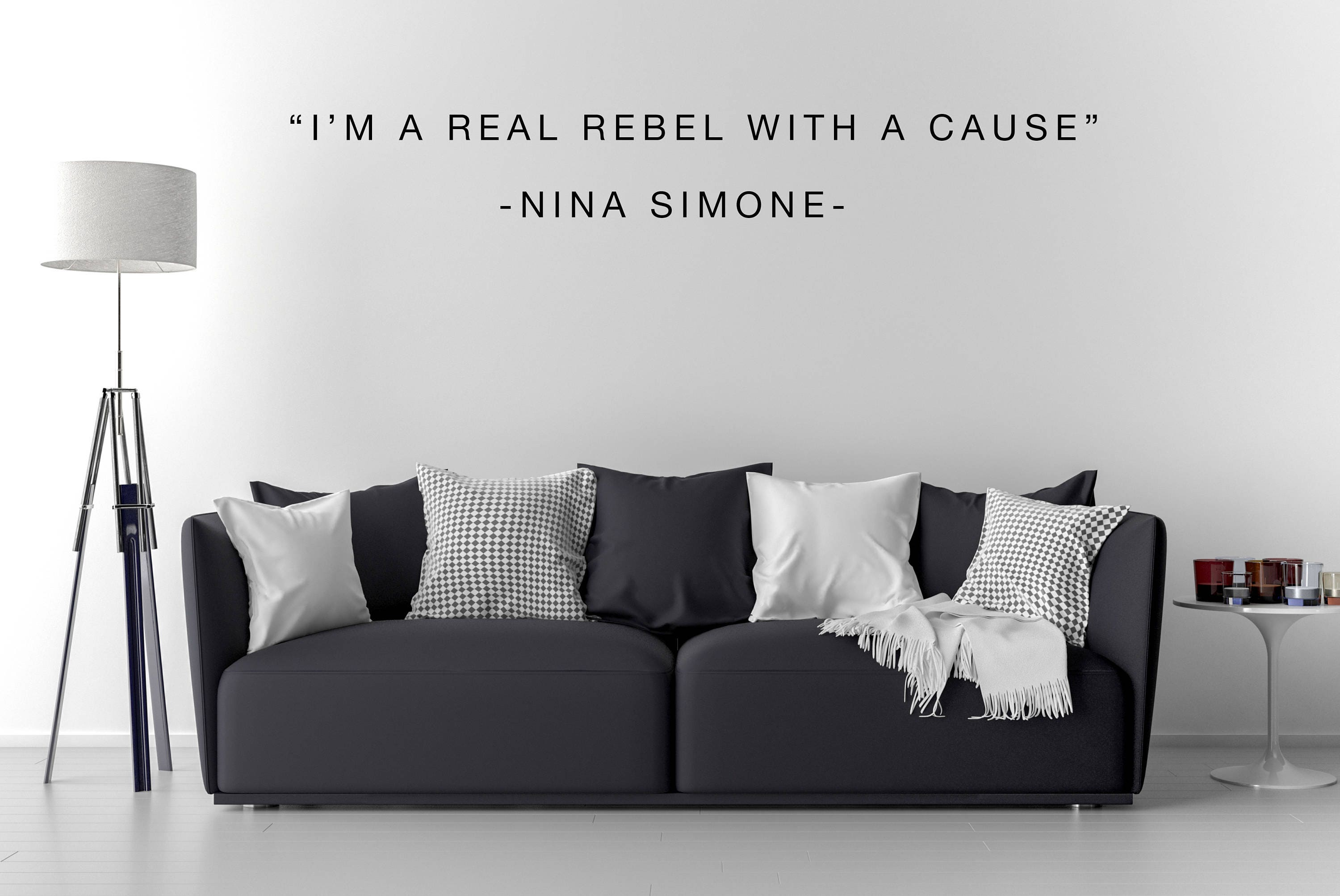 Nina Simone Wall Decal / Nina Simone Art / Home Decor