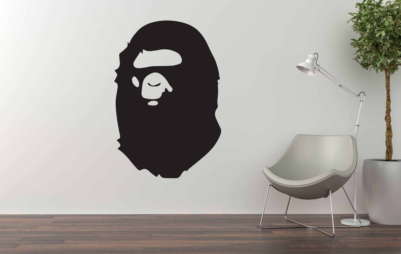 Bathing Ape Wall Art Bathing Ape Room Decor Gifts For Etsy