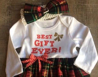 480098da6dc6 6-9 month plaid Christmas dress, Best gift ever baby dress, plaid Christmas  dress, baby Christmas dress, baby girl gift, Christmas outfits