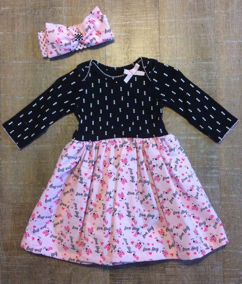 6636bf5b4edc 6-9 Month Dress baby girl dresses skirts Valentines Dress