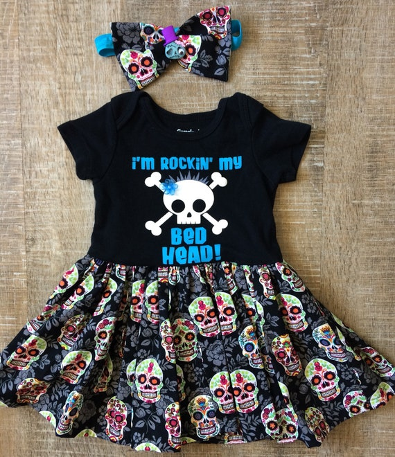 Baby Girl Casual Clothes Halloween Skeleton Long Sleeve One-Piece Suit Romper Home Outfit