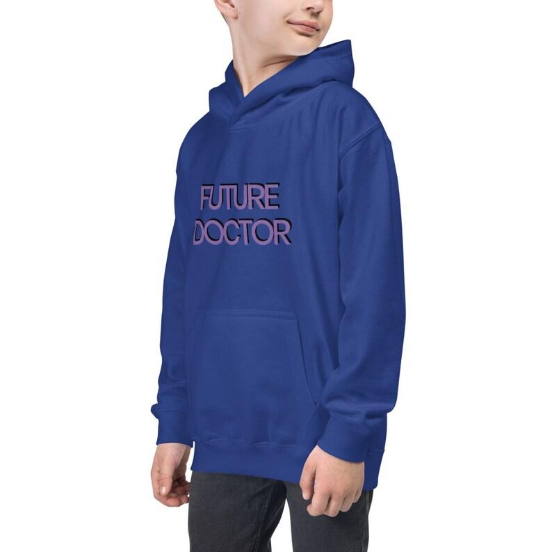 Future Doctor Kids Hoodie