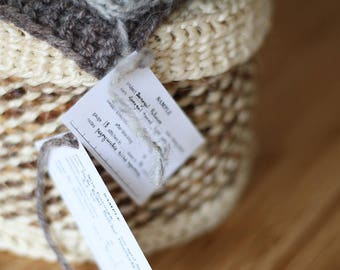 Printable swatch labels - home print knitting tags