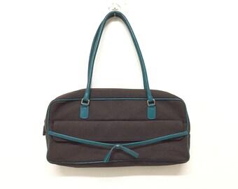 c44ef49dcbcd Vintage 90's MIU MIU Prada handbag Made In Italy Opti zipper