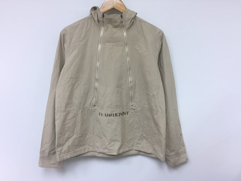 104adcb31ac68 Rare!!Vintage PPFM Prison Military Double zipper jacket neighborhood number  nine Comme des Garcons undercover supreme wtaps Bape visvim