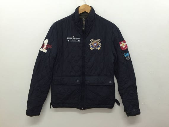 Logo brodé Vintage Hackett London veste réversible neige Polo   Etsy 7bfe1b2924f4