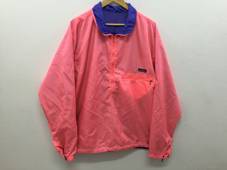 Vintage PATAGONIA reversible nylon jacket Made in USA Size XL  ef920c4c9f8d