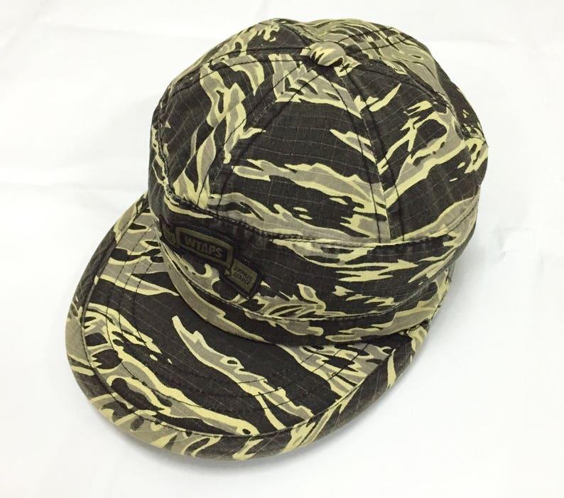 d3f13952232 30% saleRAREVintage 90s Wtaps Tiger Stripe camouflage