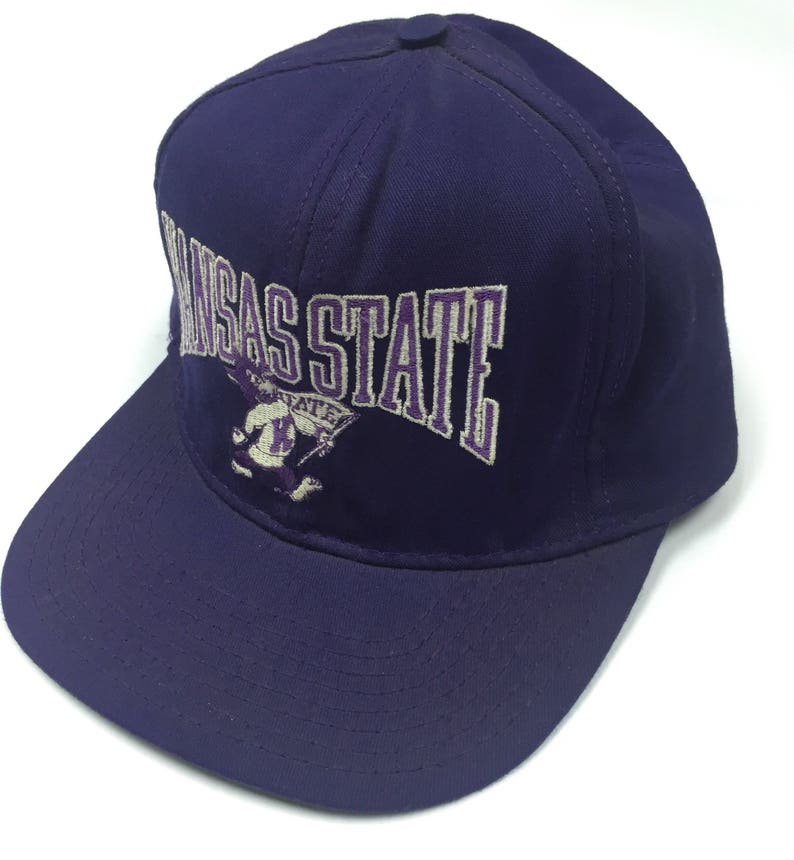 6d90a594103 40% saleRAREVintage Kansas State DEADSTOK Cap Made in USA