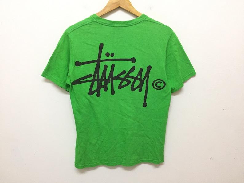 ba7eb7b767f44 Vintage 90's Stussy big logo shirt undercover hysteric glamour comme des  garcons wtaps good enough number nine supreme