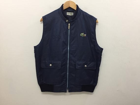 080b994e0 Vintage LACOSTE Vest Jacket size 3 /Nike ACG Adidas Fred Perry | Etsy