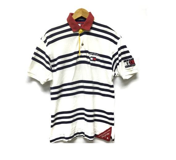 Rare nos tommy hilfiger sailing gear jacket polo supreme