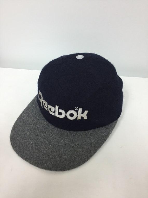 dda8e8de074 RARE Vintage 1993 Reebox 6 panel wool embroidered cap Polo