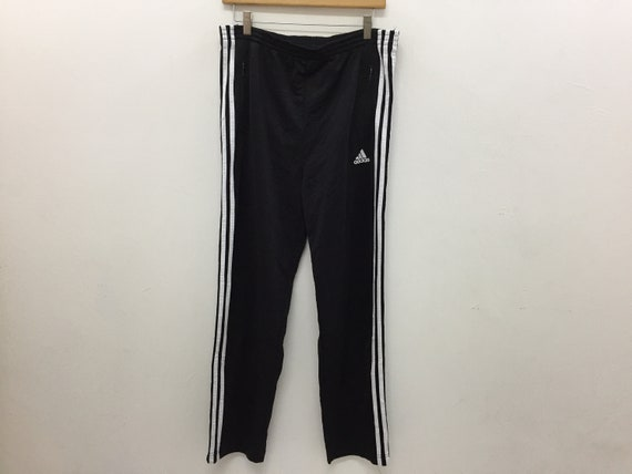 90s Adidas Trackpants Snap Button As Worn As Kim K
