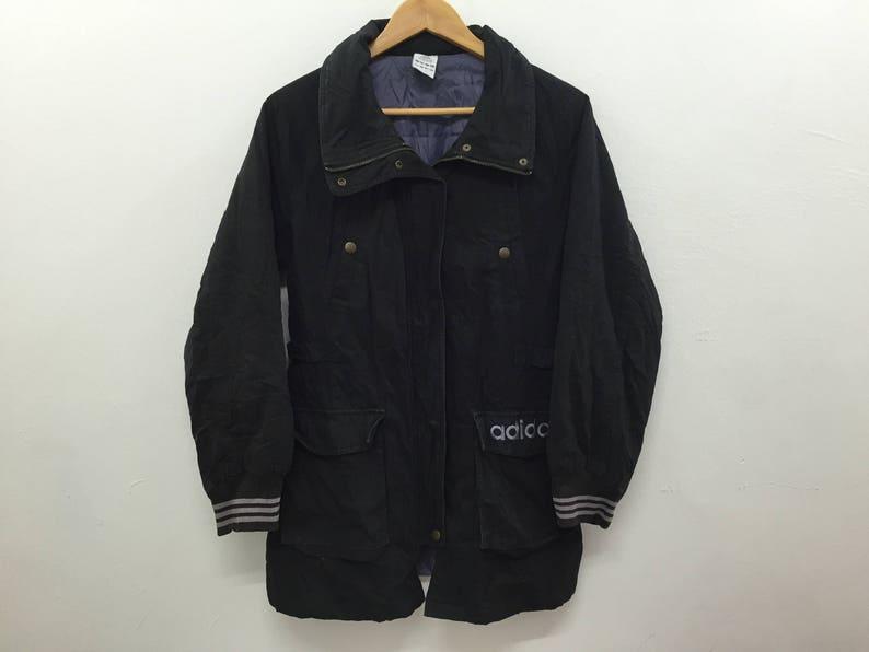 0770491ac6f87 Vintage Adidas parka jacket Tommy Hilfiger Nike Puma polo bear nautica karl  kani swag gangsta rap